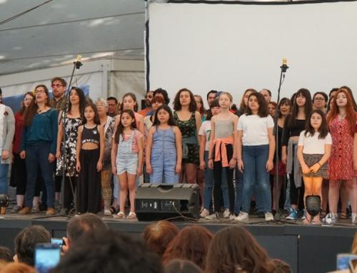 Emotivo acto y concierto ciudadano por Gustavo Gatica en sitio de memoria Parque por la Paz Villa Grimaldi