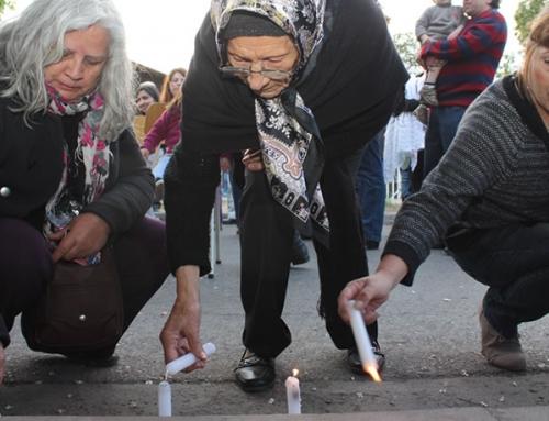 Una vela para iluminar el recuerdo de Laurisa