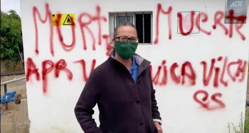 Villa Grimaldi solidariza con dirigente ambientalista amenazada de muerte por segunda oportunidad