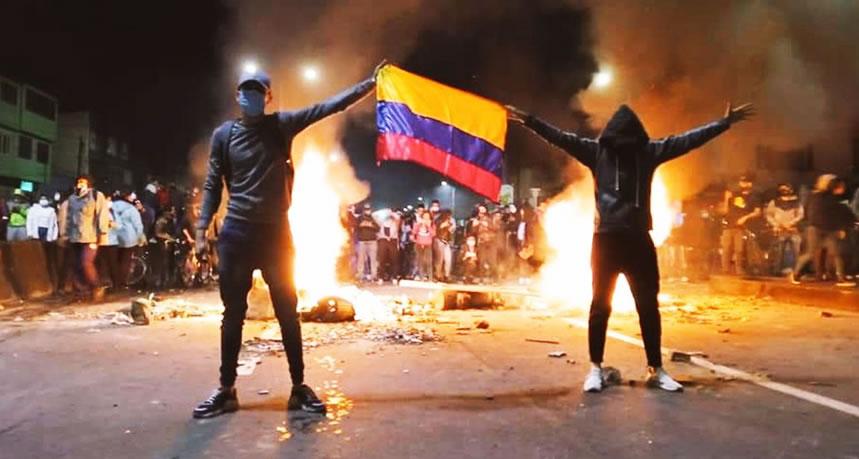 Villa Grimaldi solidariza con el pueblo colombiano y se une a organismos que exigen el cese de la violencia de Estado en el país