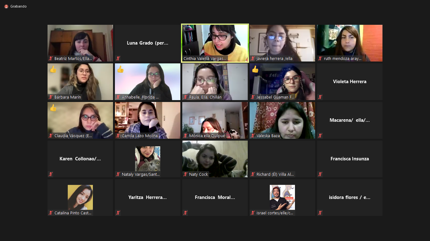 Con participantes de distintas regiones de Chile comienza la «Escuela ESI y Memoria: ¿Qué tan urgente es la Educación Sexual Integral en Chile?»