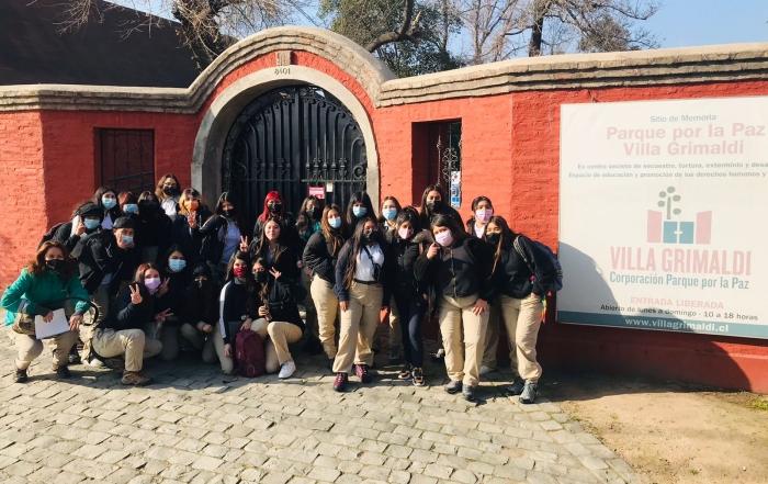 Visita pedagogica Villa Grimaldi